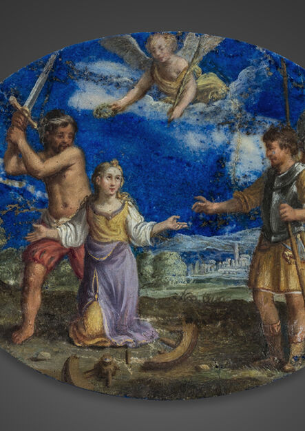 Jacques Stella, 'Attributed to. The Martyr of Saint Catherine of Alexandria', ca. Italy-circa 1630
