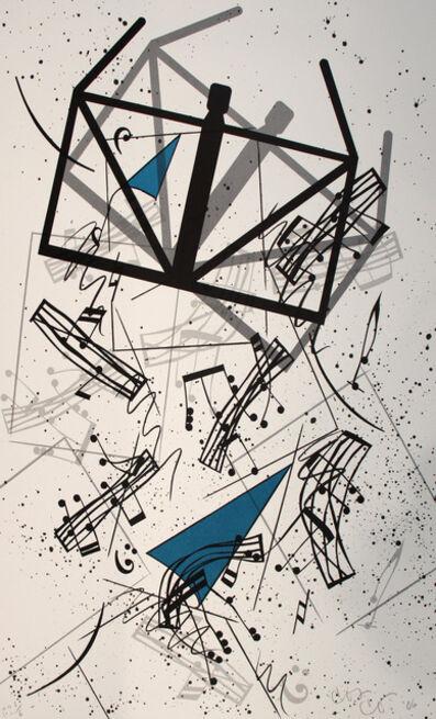 Claes Oldenburg, 'Falling Notes', 2006