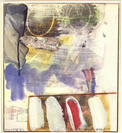 Robert Rauschenberg, 'Kyoto IX', 1983