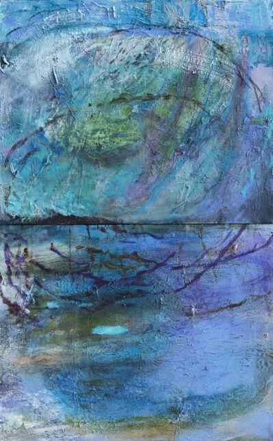 Margaret Ross Tolbert, 'First Light at Dogwood Spring, diptych', 2019