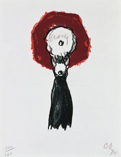 Claes Oldenburg, 'Typewriter Eraser', 1970