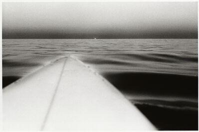 Anthony Friedkin, 'Surfboard with Setting Sun, Santa Monica, California', 1980
