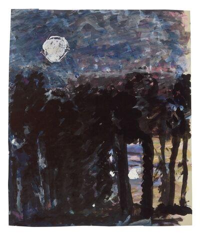 Fritz Ascher, 'Forest at Night', undated