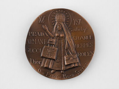 """Grayson Perry, '""""FOR FAITH IN SHOPPING""""', 2008"""
