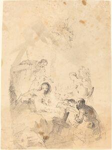 Franz Anton Maulbertsch, 'The Adoration of the Shepherds', 1757