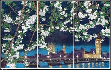 Yang Jiechang 杨诘苍, 'Crying Landscape: Houses of Parliament and Big Ben 会叫的风景', 2002