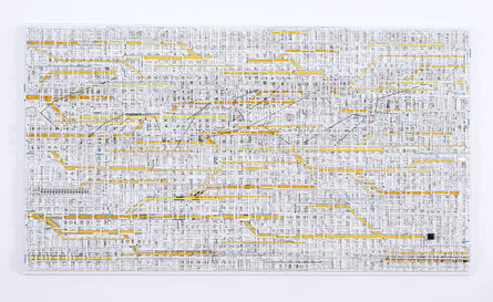 Katsumi Hayakawa, 'Traffic 1802 yellow', 2018
