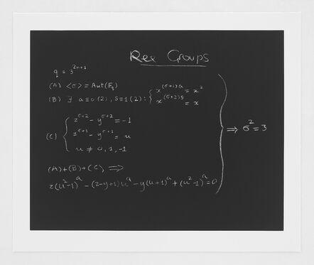 Enrico Bombieri, 'Concinnitas: The Ree Group Formula', 2014