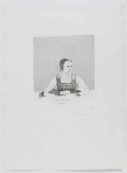 David Hockney, 'Catherina Dorothea Viehman', 1969