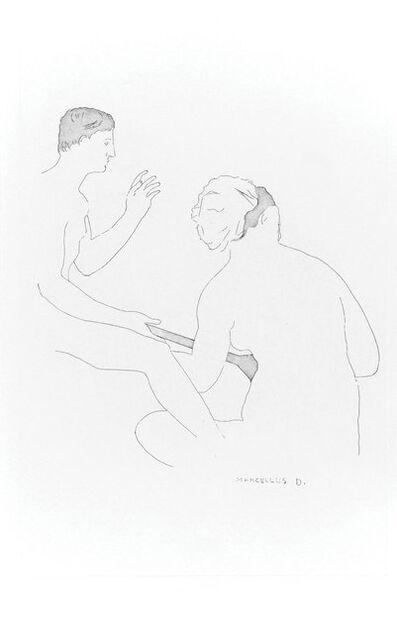 Marcel Duchamp, 'Selected Details after Ingres I', 1967