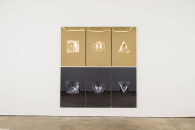Sinisa Kukec, 'VITRUVIANSLUTS (aurum et argentum)', 2017