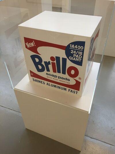 Andy Warhol, 'Brillo Soap Pads Box 1968/1990 Malmö Type', 1968/1990