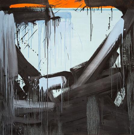 Danny Davidson (b. 1976), 'Blue Black Orange', 2019