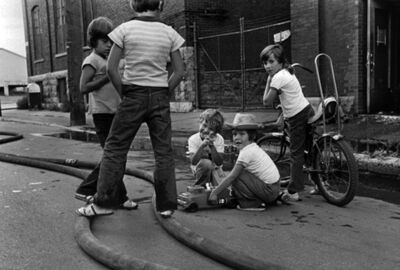 Réjean Meloche, 'Enfants Pompiers', ca. 1975