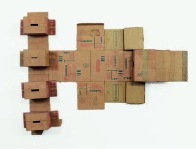 Robert Rauschenberg, 'Nabisco Shredded Wheat (Cardboard)', 1971