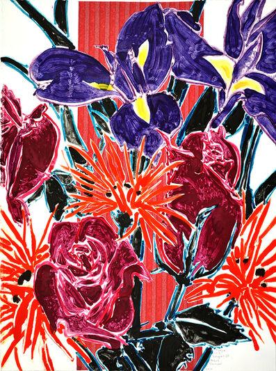Robert Kushner, 'Purple Iris Bouquet III', 2018