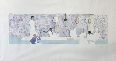 Patrick Procktor, 'Smokey Mountain Café, Morocco', 1969