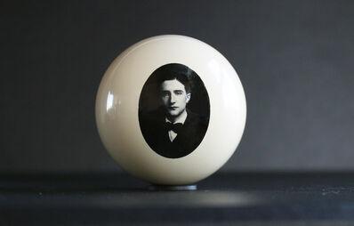 T.R. Ericsson, 'Marcel Duchamp (Cue Ball)', 2019