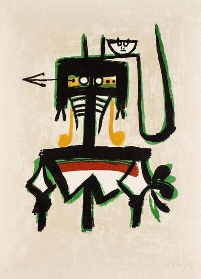 Wifredo Lam, 'Galerie Joan Prats', 1976