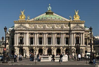 Charles Garnier, 'Opéra de Paris', 1861-1874