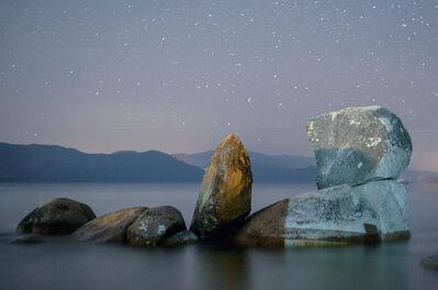 LUCA MARZIALE, 'Night Rocks, Tahoe 2017', 2020