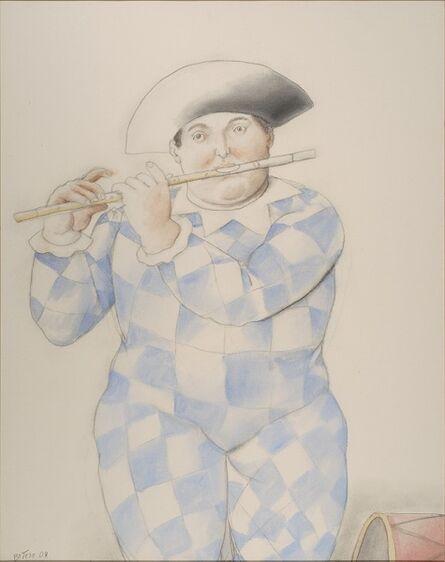 Fernando Botero, 'Arlequin', 2004