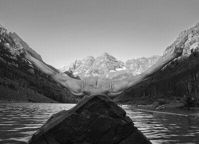 Arno Rafael Minkkinen, 'Maroon Bells Sunrise, Aspen, Colorado', 2012