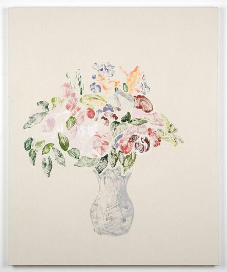 Kristen Van Deventer, 'Vase of Flowers (After Cezanne, After Redon)'
