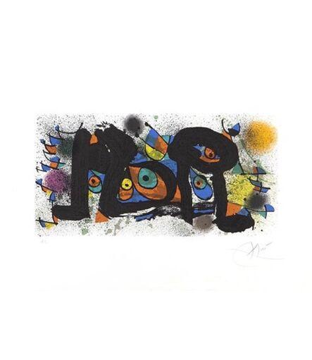 Joan Miró, 'Sculptures: The Chicks', 1974