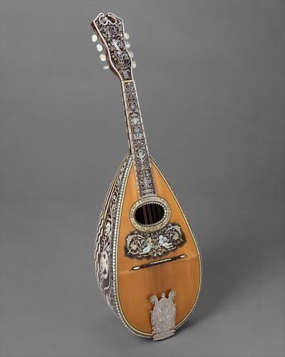 Angelo Mannello, 'Mandolin', ca. 1900