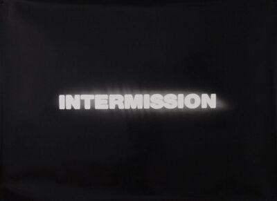 Fiona Banner, 'Intermission', 1992-2012