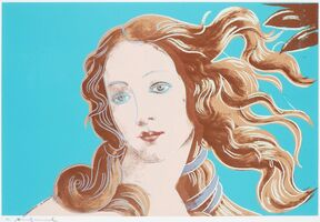 Andy Warhol, 'Sandro Botticelli, Birth of Venus, 1482 (FS II.319)', 1984