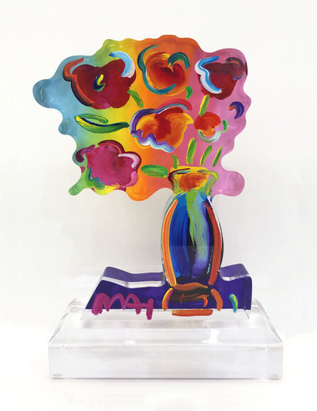 Peter Max, 'VASE OF FLOWERS (SCULPTURE)', ca. 2015