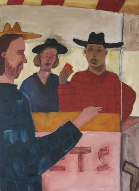 Charlie Ingemar Harding, 'Tickets', 2018