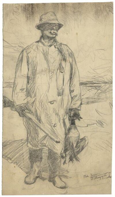 Frank Weston Benson, 'Old Tom.', 1926