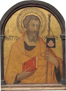 Workshop of Simone Martini, 'Saint James Major', probably ca. 1320