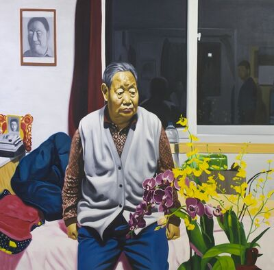 Yuanzheng Wang, 'The Old Man and the Flowers', 2012