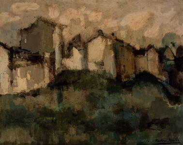 Cirilo Martinez Novillo, 'Hilltop Village'