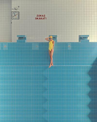 Maria Svarbova, 'No Diving (Yellow)', 2020