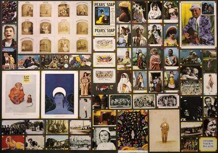 Peter Blake, 'Studio Tack Board (14 BIG Prints)', 1972