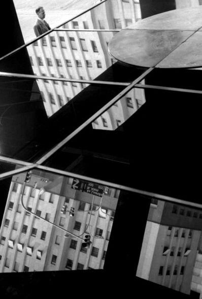 "Facundo de Zuviría, 'From the series ""Estampas Porteñas"", ""The citizen, Alem and Viamonte""', 1988"