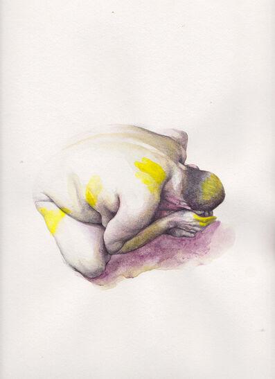 Kirsty Whiten, 'Abasement (yellow)', 2017