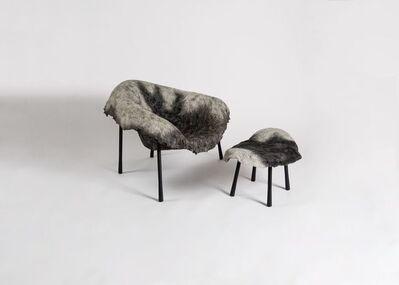 Ayala Serfaty, 'Lotta Leh, Armchair and Matching Ottoman', ca. Israel-2014
