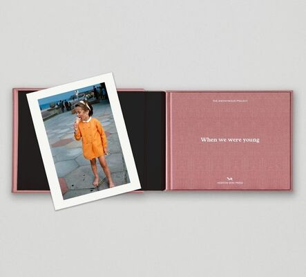 The Anonymous Project, 'Limited edition print (H) + book: 'When We Were Young'', 2020