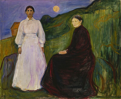 Edvard Munch, 'Mother and Daughter', 1897