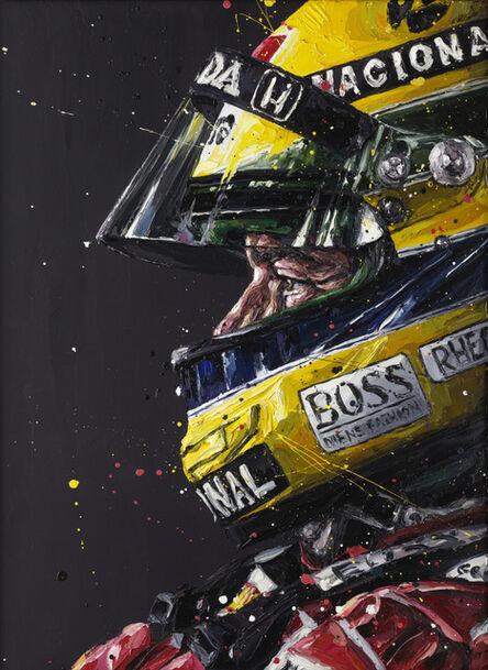 Paul Oz, 'Senna Profile', 2015