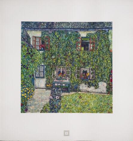 Gustav Klimt, 'House in a Garden [Gustav Klimt An Aftermath]', 1931