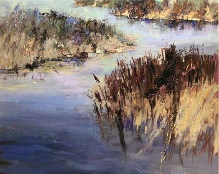 Andy Braitman, 'Wine Red Grasses', 2021