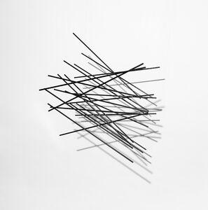 Elias Crespin, 'Cuadrado Flexionante Negro 50', 2020