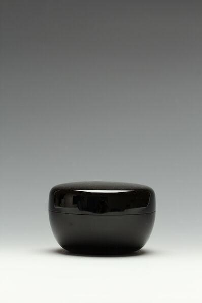 Nagano, 'Tea Caddy with Snail (T-3604)', Showa era (1926, 89), ca. 1980's